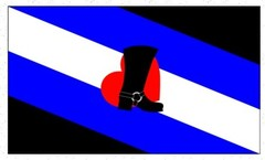 bootblack pride flag